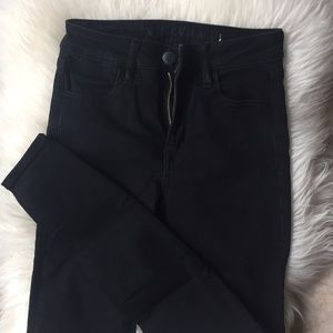 American Eagle Black High Rise Denim Jeans
